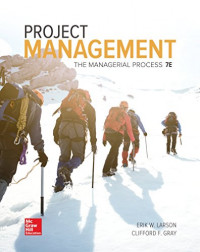 Image of Project management : The Managerial Process